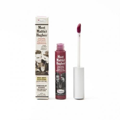 theBalm Meet Matt(e) Hughes Long-Lasting Liquid Lipstick Dedicated