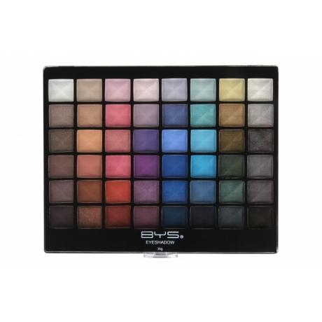 BYS Eyeshadow Palette Matte & Shimmer 48 pc