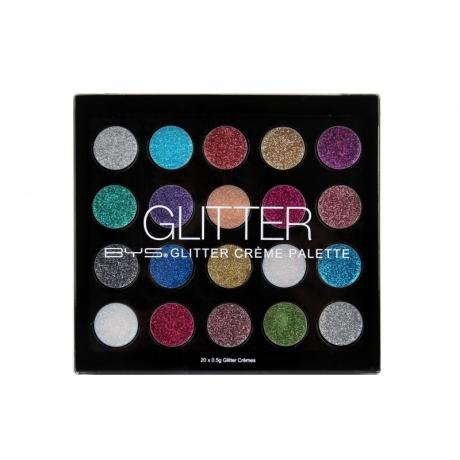 BYS Glitter Creme Palette 20 pc