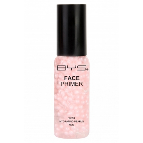 BYS Face Primer Pump Bottle With Hydrating Pearls