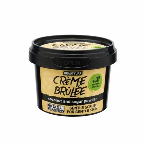 Beauty Jar Kasvojen kuorintavoide Face Scrub Creme Brulée 120g
