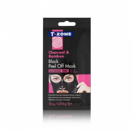 T-Zone Peel Off Sachet Mask Charcoal & Bamboo 10ml