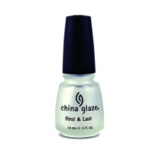 China Glaze Alus- ja Pealislakk First&Last Top Coat