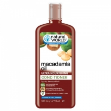 Natural World Macadamia Oil Ultra Nourishing Conditioner 500ml