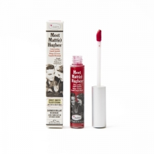 theBalm kauapüsiv vedel huulepulk Meet Matt(e) Hughes Devoted