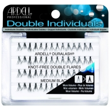 Ardell Knot-Free Double Flares Medium Black Пучковые ресницы