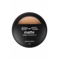 BYS Matte Creme Foundation Natural Beige