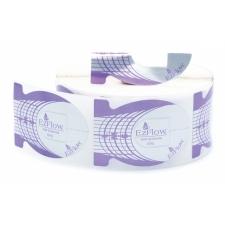 EzFlow Perfect C Curve Forms Purple Шаблоны для маникюра 1шт