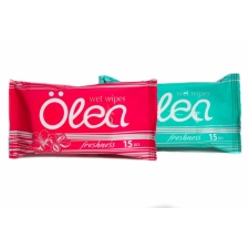 Olea Wet wipes Refreshing 15pc