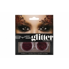 BYS Glitter Face & Body Kit FUCHSIA