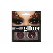 BYS Glitter Face & Body Kit ROSE GOLD