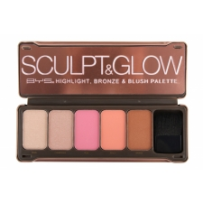 BYS Face Palette Sculpt & Glow 5 Colours