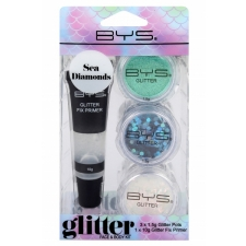 BYS Glitter Face and Body Kit SEA DIAMONDS