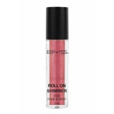 BYS Roll on Shimmer for Face and Body Pink Valentine