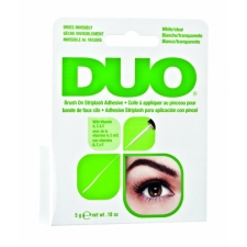 Ardell DUO Brush On Ripsmekaarte liim vitamiinidega White/Clear 5 gr