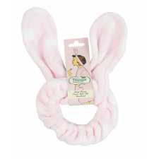 The Vintage Cosmetic Company Make-up Headband  Baby Bunny Twist Pink