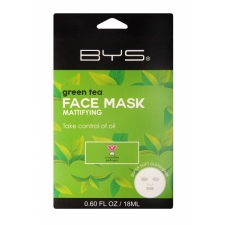 BYS Face Mask Cloth Green Tea 18ml