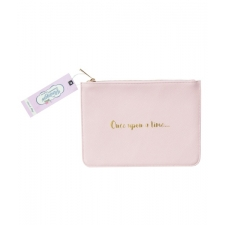 The Vintage Cosmetic Company Cosmetic Bag Once Upon a Time Pink