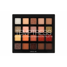 BYS Glitter & Eyeshadow Palette 20 pc TEMPTRESS