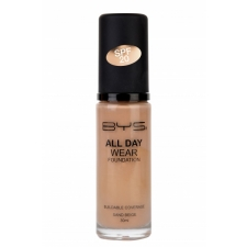 BYS All Day Wear Foundation Sand Beige