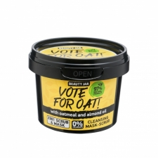 Beauty Jar Näomask-koorija Face Mask-Scrub Vote For Oat! 120g