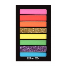BYS Eyeshadow Palette Horizontal Lets Party 8Pc