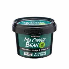 Beauty Jar Kasvojen kuorintavoide Face Scrub Mr. Coffee Bean 50g