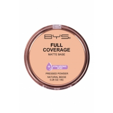BYS Pressed Powder Full Coverage Natural Beige