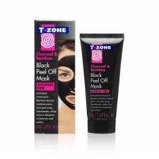 T-Zone Kasvonaamio Peel Off Black Mask Charcoal & Bamboo 50ml