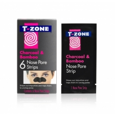 T-Zone Nose Pore Strips Charcoal & Bamboo 6pc