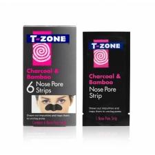 T-Zone Полоски для очищения пор на носу Charcoal & Bamboo 6шт