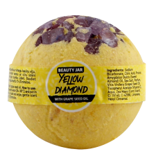 Beauty Jar Bath Bomb Yellow Diamond 150g