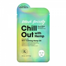 Body Drench Тканевая маска Chill Out  with Skin Calming Hemp Oil
