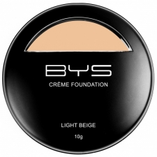 BYS Creme Foundation Light Beige 10g