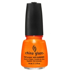 China Glaze Nail Polish Orange You Hot?