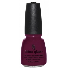 China Glaze Nail Polish Purr-Fect Plum - Safari