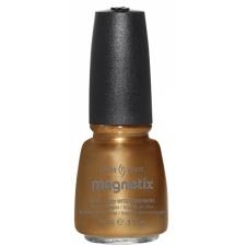 China Glaze Nail Polish Gold Fusion- Magnetix II