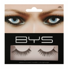 BYS False Eyelashes & Adhesive Star Struck