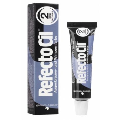 RefectoCil Краска для бровей и ресниц Сине-черный № 2 15ml