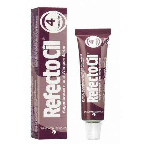 RefectoCil Краска для бровей и ресниц Каштановый № 4 15ml