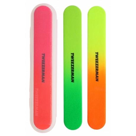Tweezerman Neon Files Пилочки для ногтей
