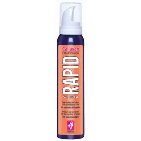 Callusan RAPID foot foam for fungus protection 125ml