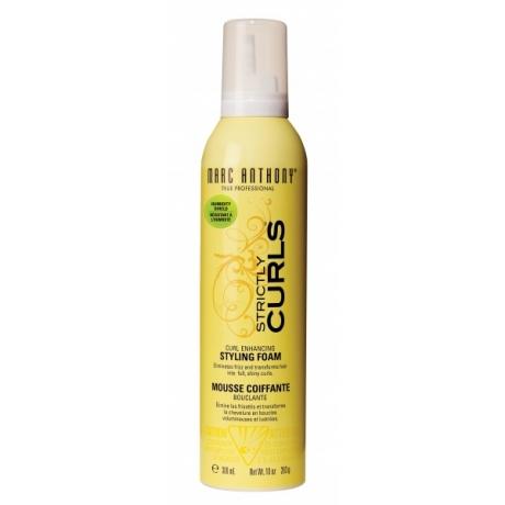 Marc Anthony Strictly Curls Curl Enhancing Styling Foam 300ml
