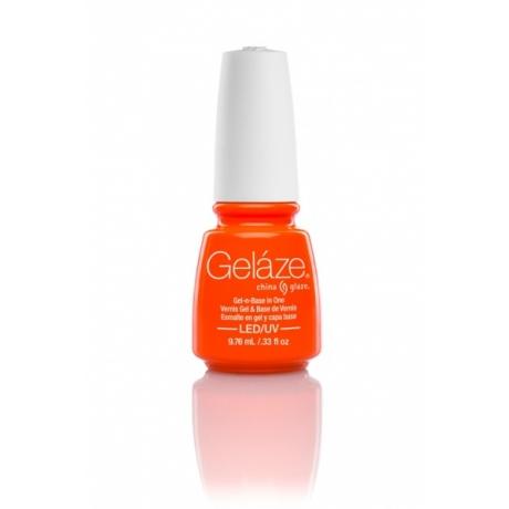 China Glaze Gelaze Gel Orange Knockout 9,76ml