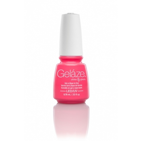 China Glaze Gelaze Гель-лак Shocking Pink 9,76ml