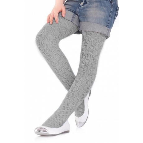 Marilyn Childrens tights Charlotte 274 gray 128/146