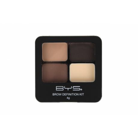 BYS Eyebrow Kit with Powder and Wax WOW BROWS