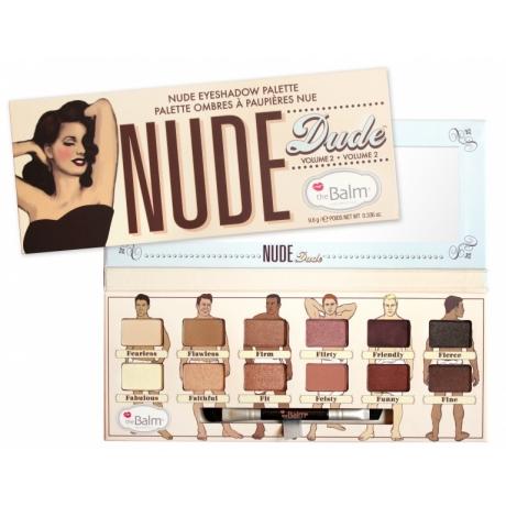 theBalm Палетка теней для век Nude Dude Volume 2