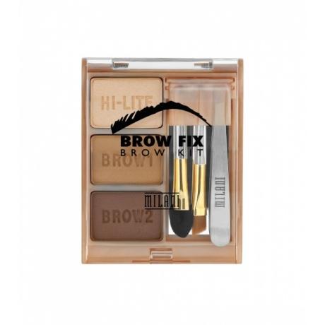 Milani Kulmavärisetti Brow Fix Kit Medium