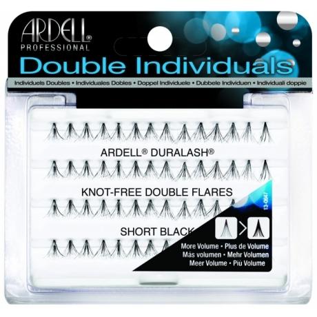 Ardell Knot-Free Double Flares Short Black Пучковые ресницы